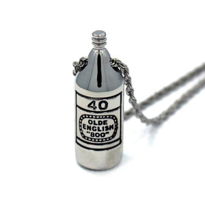 40 Oz Pendant Silver Ss Necklaces