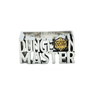 dungeons and dragons ring,D&D jewelry, D&D ring,Dungeon Master,D&D Dungeon Master,DM RING