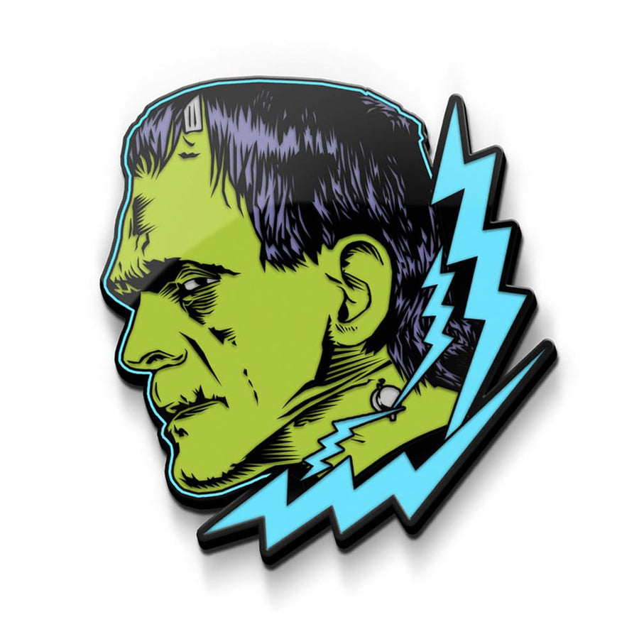 Frankenstein Enamel Pin - Glow in the Dark
