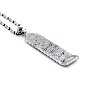 hover board necklace, back to the future merch, bttf jewelry