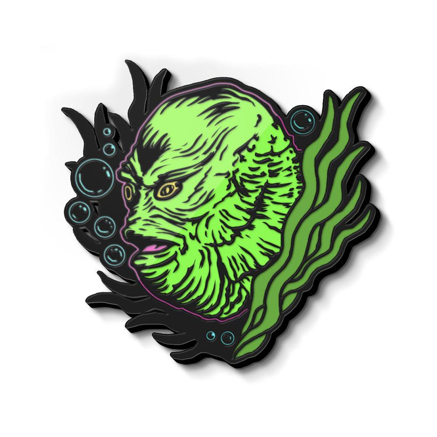 The Creature Enamel Pin - Glow in the Dark