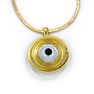 All Seeing Eye Pendant Ss Necklaces