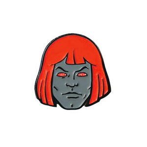 front of the Anti-He-Man enamel pin from the masters of the universe collection