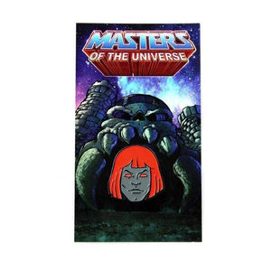 Anti-He-Man Enamel Pin. Masters of the Universe, He Man, Battle Cat, MOTU