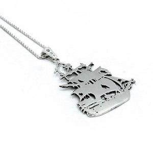 Baby Ghost Ship Silver / 24 Ss Necklaces