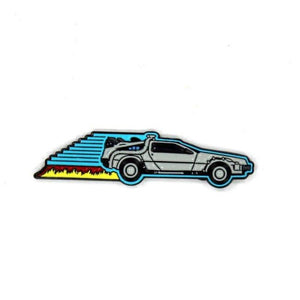 Back To The Future Delorean Enamel Pin, back to the future merch