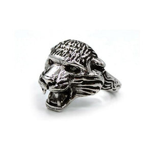left side of the Battle Cat Ring from the masters of the universe collection