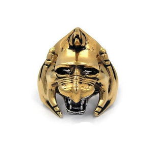 front of the Battle Cat Ring from the masters of the universe collection