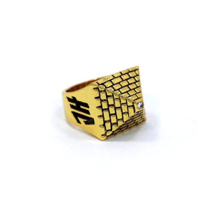 Big Pyramid Ring, pyramid ring, ehyptian ring, pharaoh ring, han cholo ring, han cholo jewelry