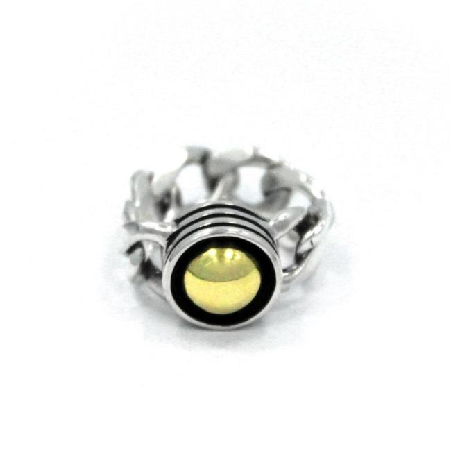 Black Hole Sun Ring Sterling Silver .925/black Stone / 5 Pm Rings