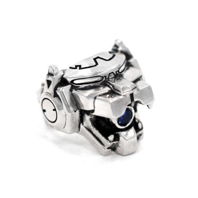 front of the Blue Lion Ring from the han cholo voltron collection