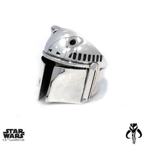 left angle of the Boba Fett Ring from the han cholo star wars collection