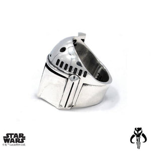 left side of the Boba Fett Ring from the han cholo star wars collection