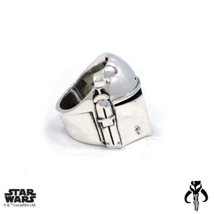 right side of the Boba Fett Ring from the han cholo star wars collection