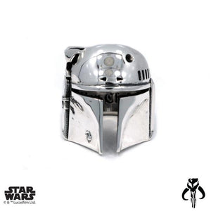 front of the Boba Fett Ring from the han cholo star wars collection