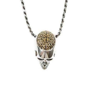 top of the Brain Dead Pendant from the han cholo skulls collection