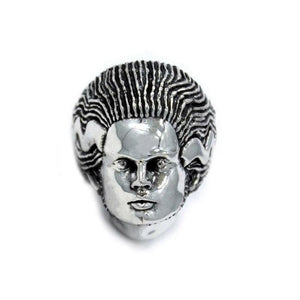 Bride Of Frankenstein Ring Sterling Silver .925 / 7 Pm Rings