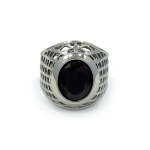 silver ring, silver class ring, onyx stone ring, mens ring with stone, silver ring, mens jewelry