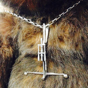 Chewbacca Bowcaster Pendant Pm Necklaces