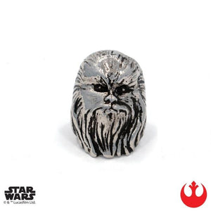 front of the Chewbacca Ring from the han cholo star wars collection