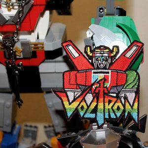 Classic Voltron Patch, voltron patch, voltron pin, voltron accessory, voltron sticker, voltron pins