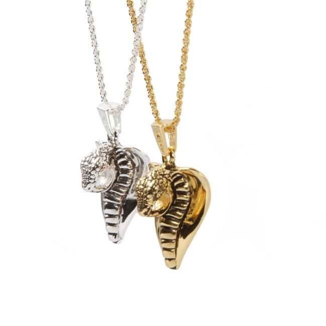 Cobra Lover Pendant Ss Necklaces