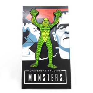 Creature from the black lagoon full body enamel pin, universal monsters pin