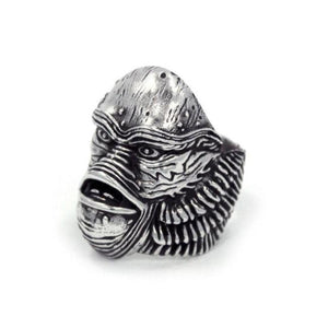 left side of the Creature From The Black Lagoon Ring from the universal monsters collection.