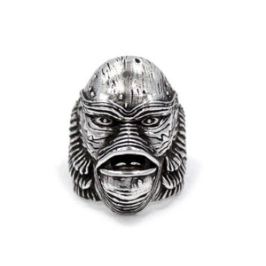 Creature From The Black Lagoon Ring Sterling .925 / 9 Pm Rings