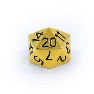 D20 Ring Gold / 7 Ss Rings