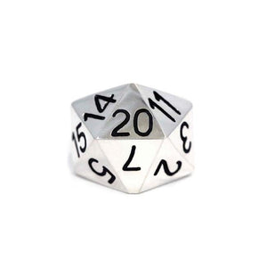 D20 Ring Sterling .925 / 9 Pm Rings