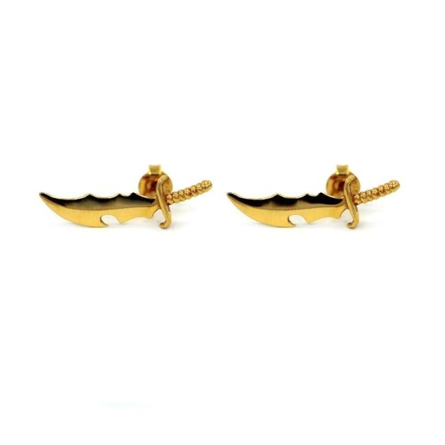 Dagger Stud Earrings