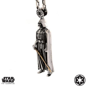 left side of the darth vader Pendant from the han cholo star wars collection
