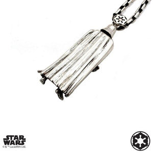 back of the darth vader Pendant from the han cholo star wars collection