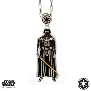 front of the darth vader Pendant from the han cholo star wars collection