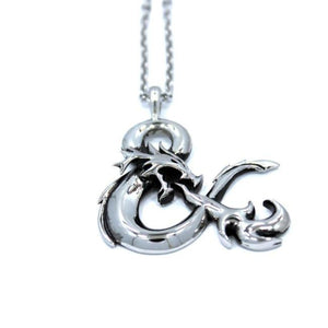 D&d Ampersand Logo Pendant Ss Necklaces