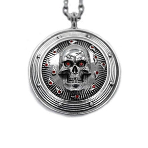 D&D Baldurs Gate,D&D necklace,D&D jewelry,D&D pendant,Skull necklace,descent into avernus