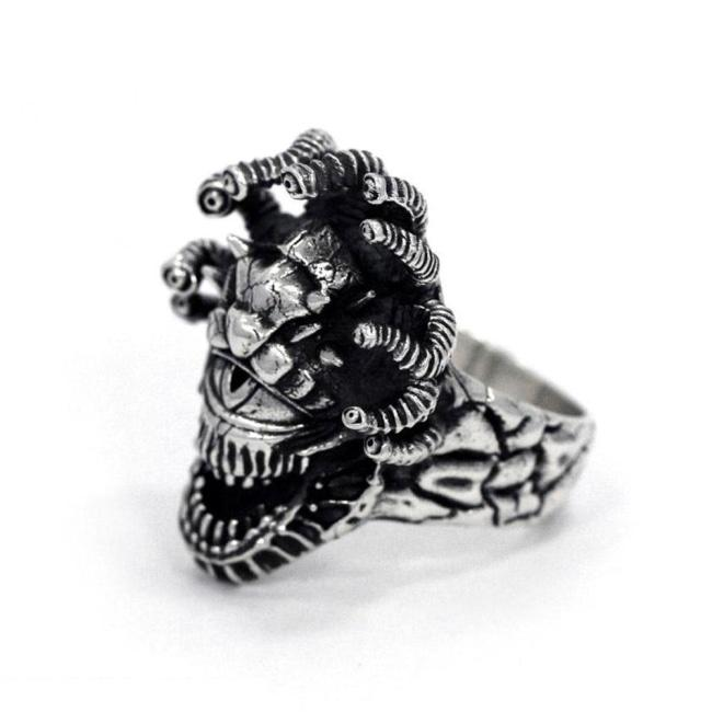 D&D ring,D&D rings,dungeons and dragons jewelry,dungeons and dragons accessory,D&D beholder creature