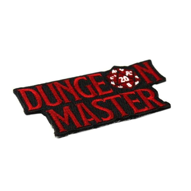 D&D Patch,Dungeons and Dragons Patch,D&D,Dungeon Master,D&D accessory,D&D