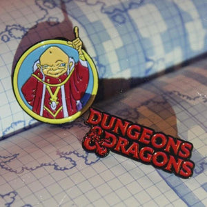 D&d Dungeons And Dragons Enamel Pin