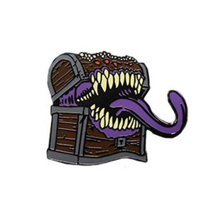 D&d Mimic Enamel Pin
