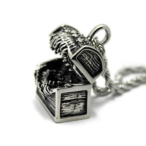 D&d Mimic Pendant,D&D Mimic,Mimic Monster,Monster Manual,D&D pendant,D&D jewelry,D&D necklace