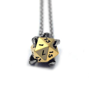 D&D Dragon Claw,Dungeons and Dragons Necklace,D&D pendant,D&D necklace,D&D accessory