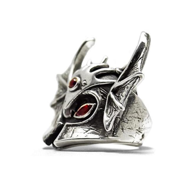 D&D Warduke Ring,Warduke character,silver D&D jewelry,D&D ring,Helmet ring,DND jewelry