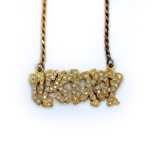 Destroy Necklace Vermeil Pm Necklaces