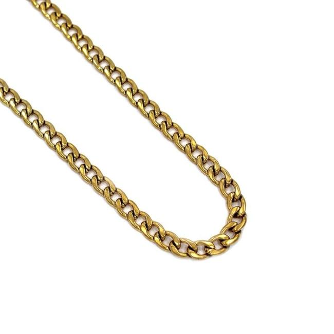 Diamond Cut Curb Chain Ss Necklaces