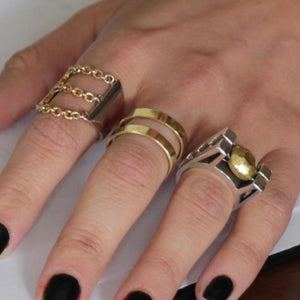 Drip Chain Ring Pm Rings