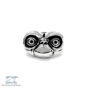 E.t. Face Ring Sterling .925 / 7 Pm Rings