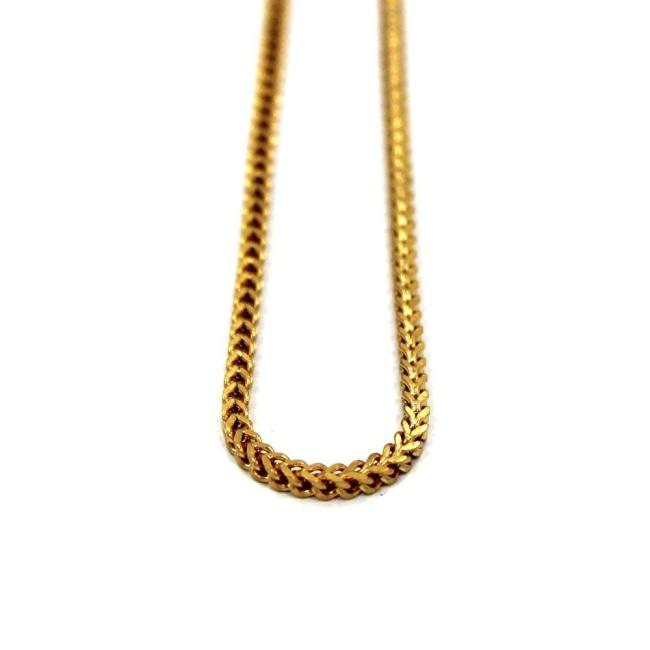 Franco Chain Gold / 28 Ss Necklaces