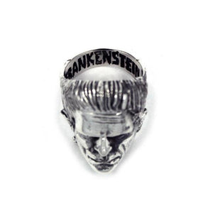 aerial view of the Frankenstein Ring from the universal monsters jewelry collection